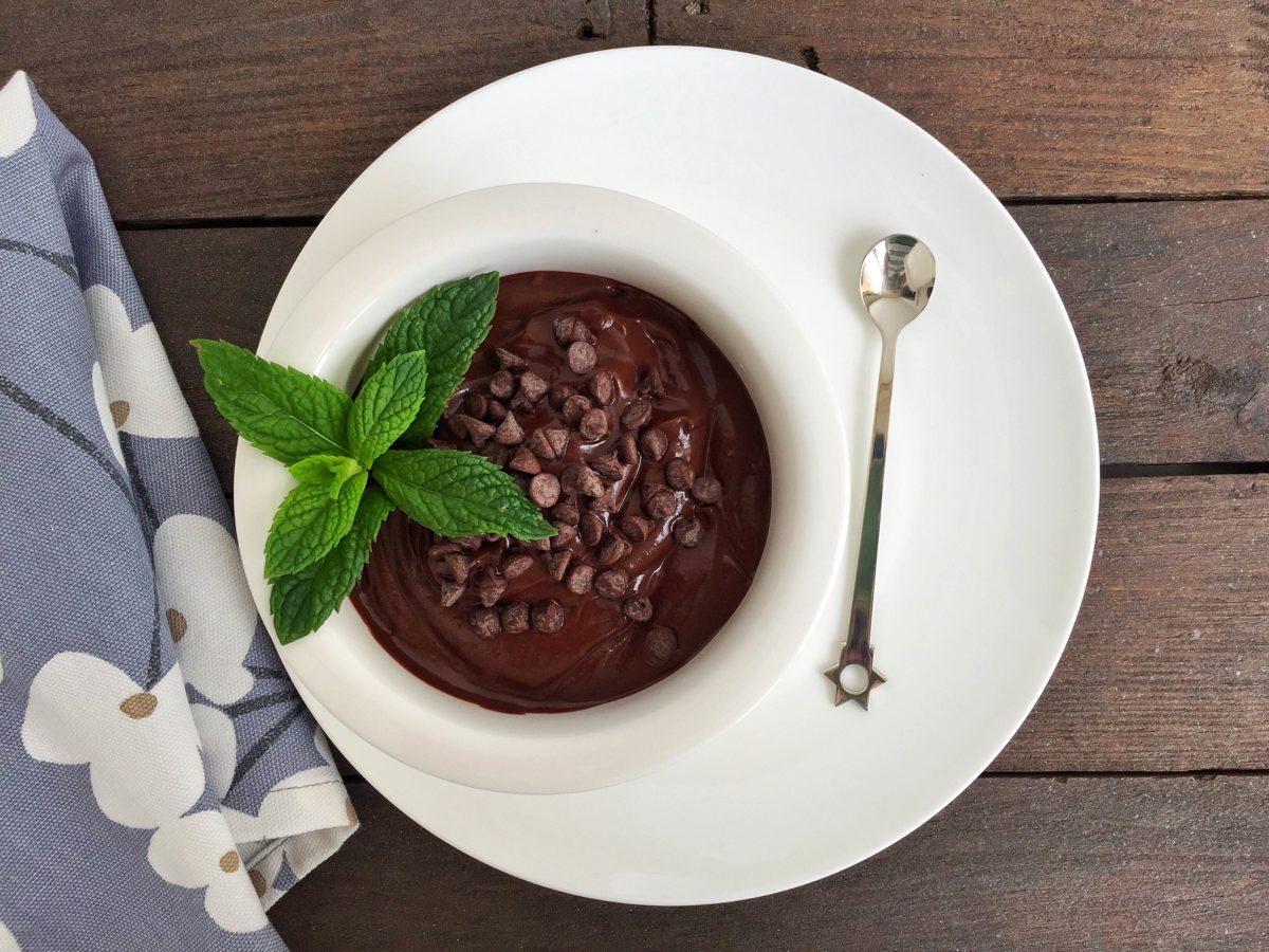 Crema di avocado e cacao
