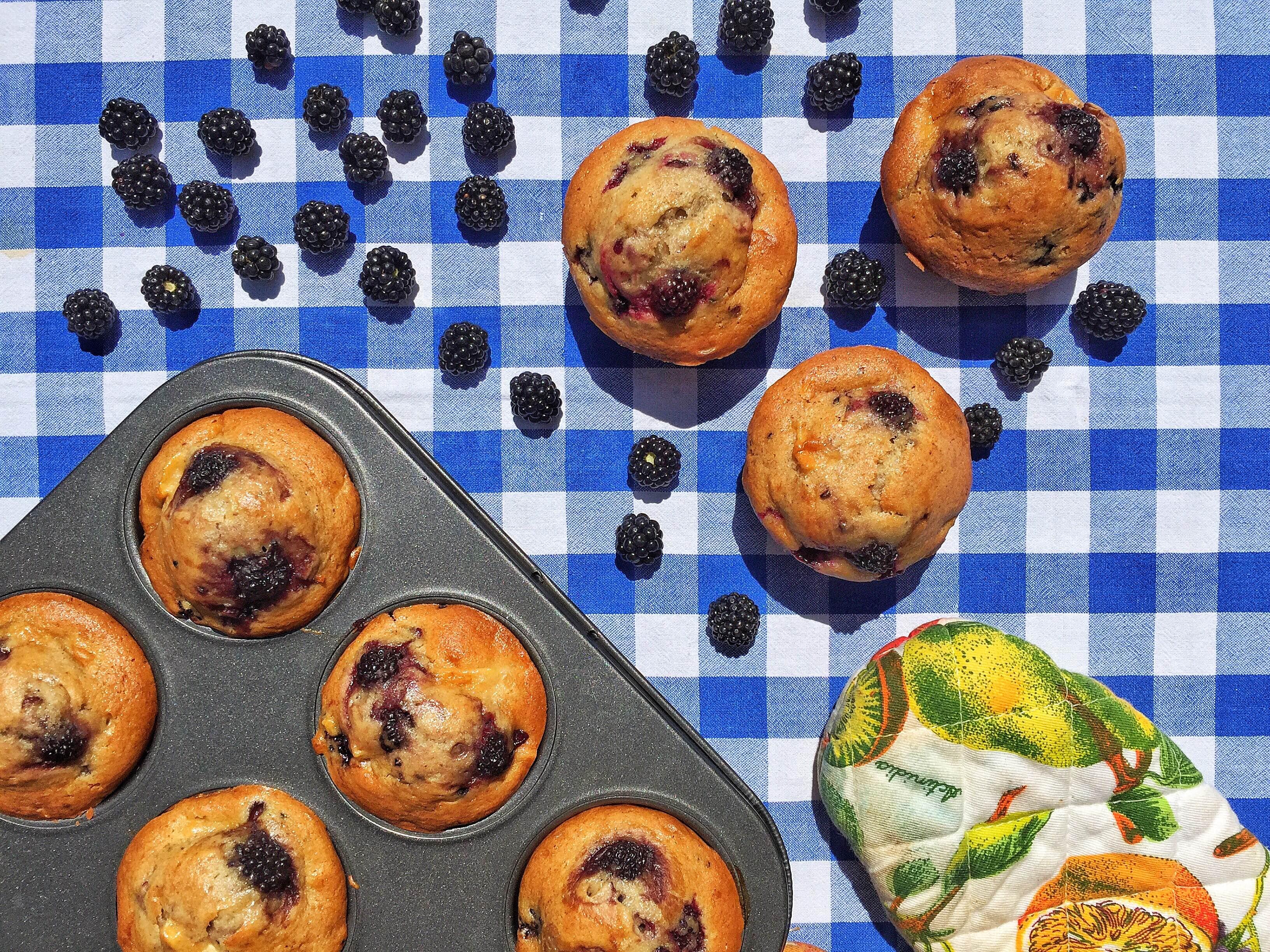 Muffin more e mele