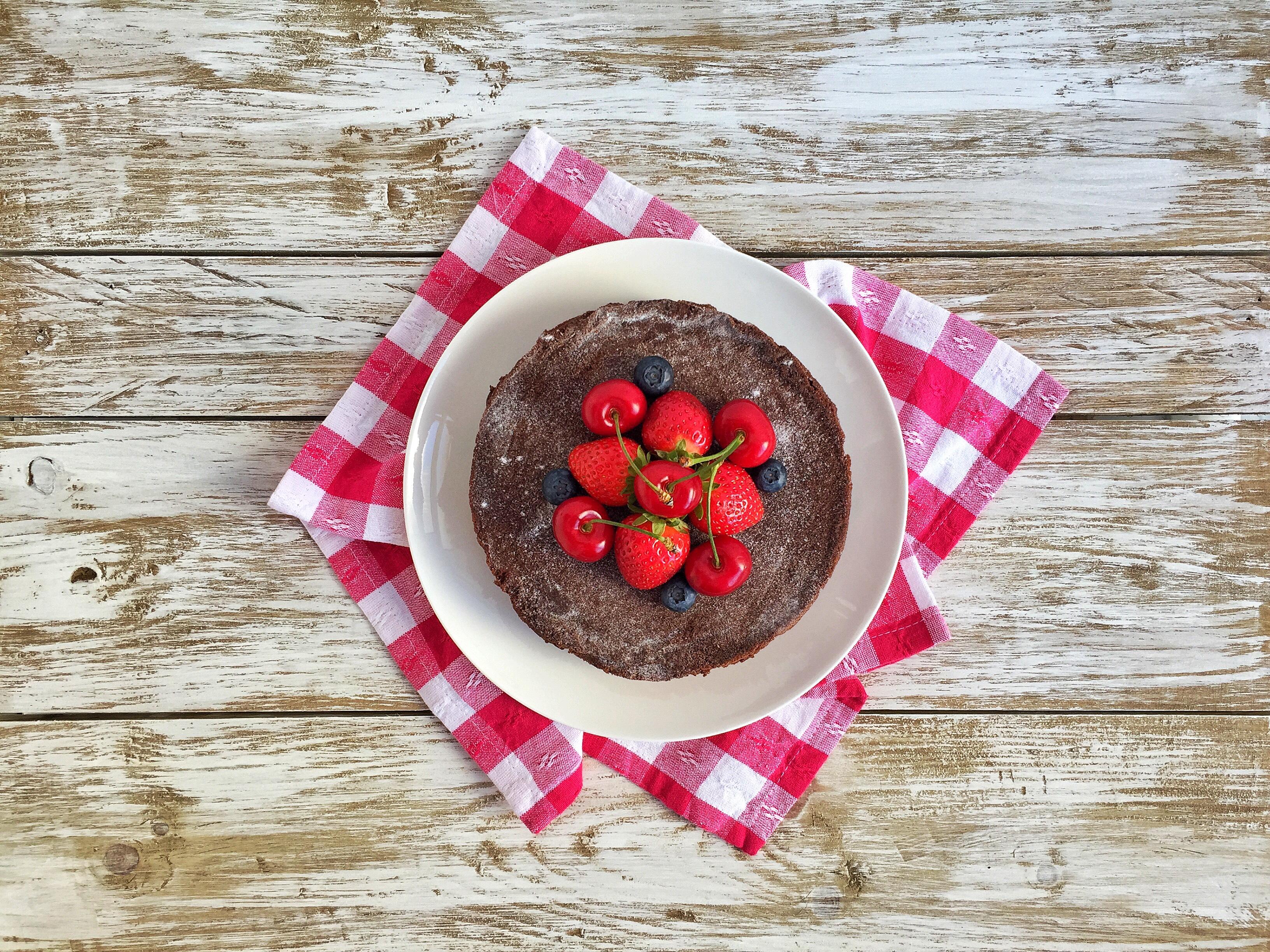 Cheesecake soffice al cioccolato