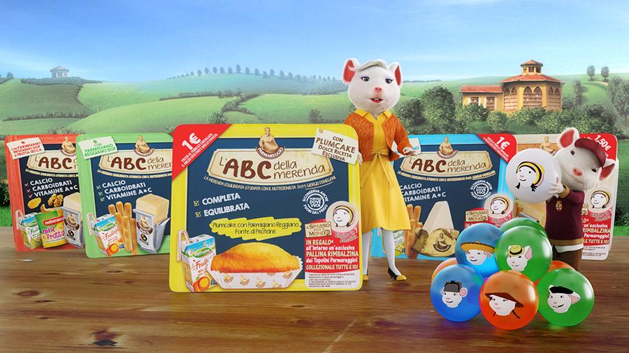Parmareggio e l'ABC della merenda dolce
