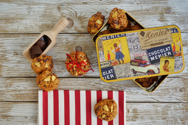 Le Ricette di Chri: Biscotti mele e cioccolato
