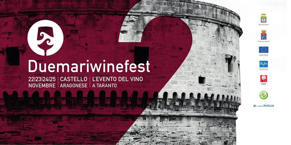 Due Mari WineFest: Taranto tra enogastronomia e cultura