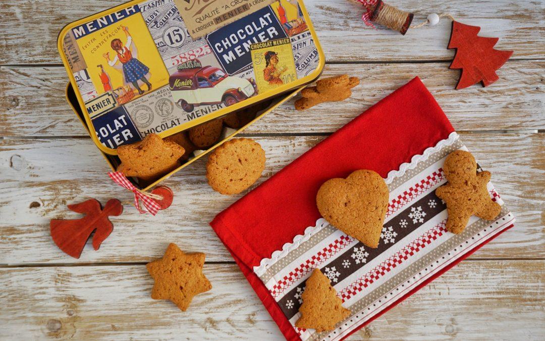 Biscotti integrali con cannella e noce moscata