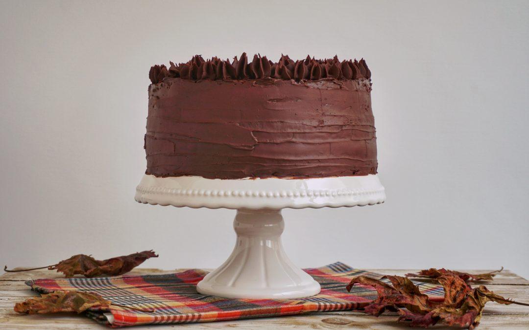 Torta Gaia: doppia farcitura e ganache al cioccolato