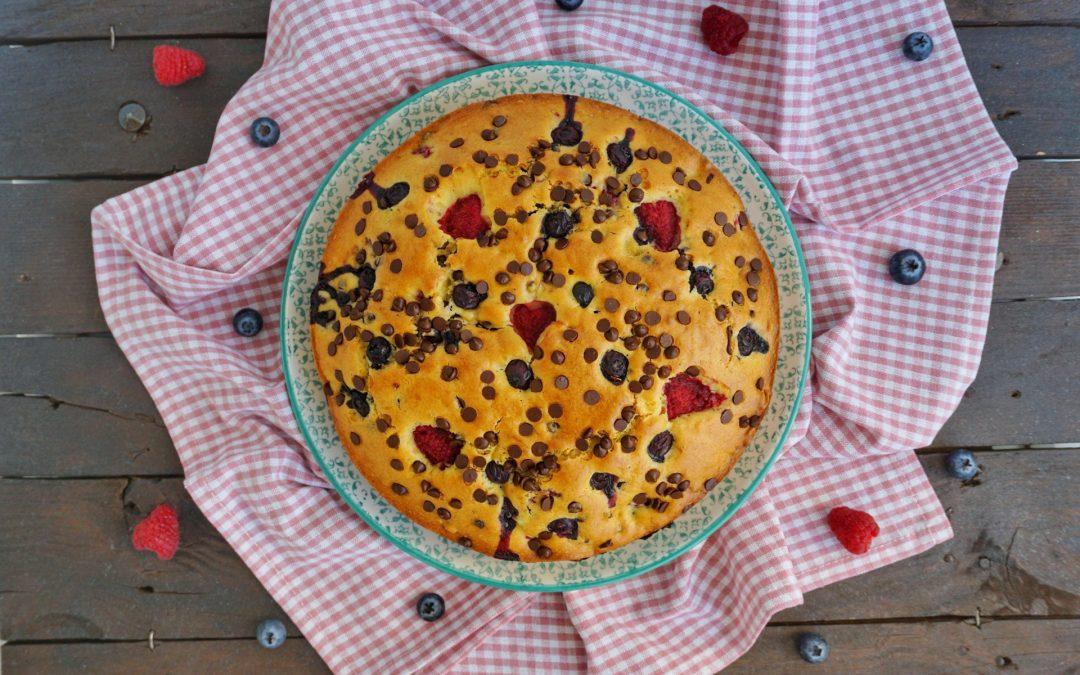 Le Ricette di Chri: Torta frutti rossi e cioccolato